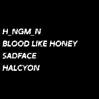 SYS #002: H_ngm_n // Blood Like Honey // Sadface // Halcyon at The Fiddler's Elbow promotional image