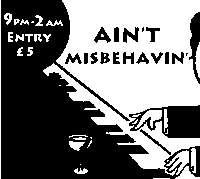 Ain't Misbehavin' - December  at Mascara Bar promotional image