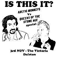 Dalston Indie Disco / Arctic Monkeys vs. QOTSA Special at The Victoria promotional image