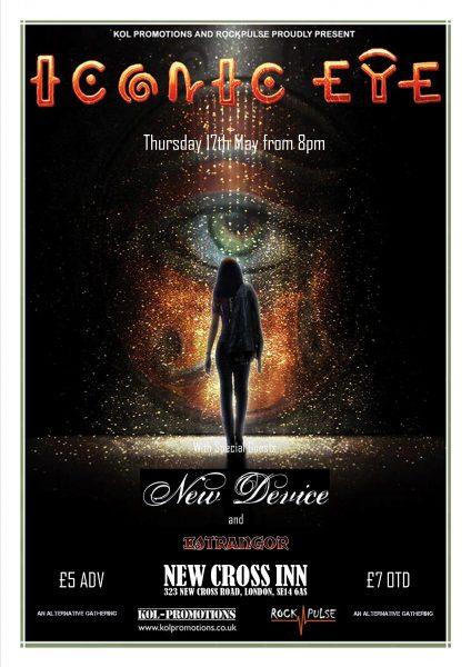 Iconic Eye w/ New Device & Estrangor at New Cross Inn promotional image