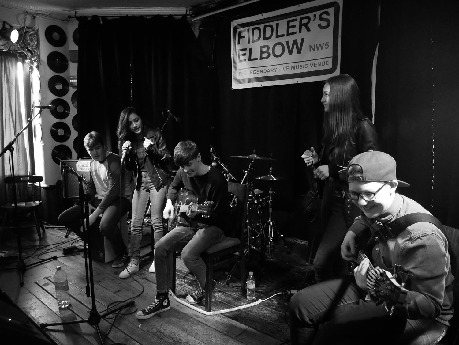 Musicians Of The Future Showcase  -  Access To Music London  at The Fiddler's Elbow promotional image