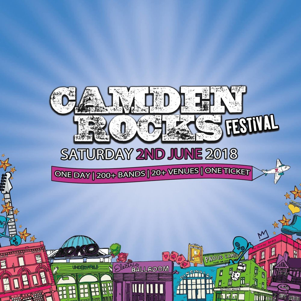 Camden Rocks Festival at The Fiddler's Elbow promotional image
