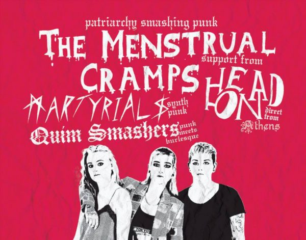 The Menstrual Cramps / Head On / Martyrials / Quim Smashers at New Cross Inn promotional image