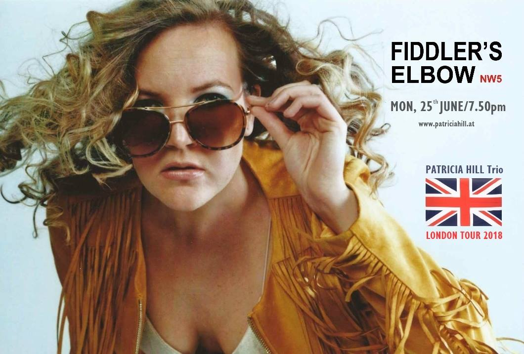 INDIE/SOUL/POP - Phil Black + Gogo Phoenix + Patricia Hill at The Fiddler's Elbow promotional image