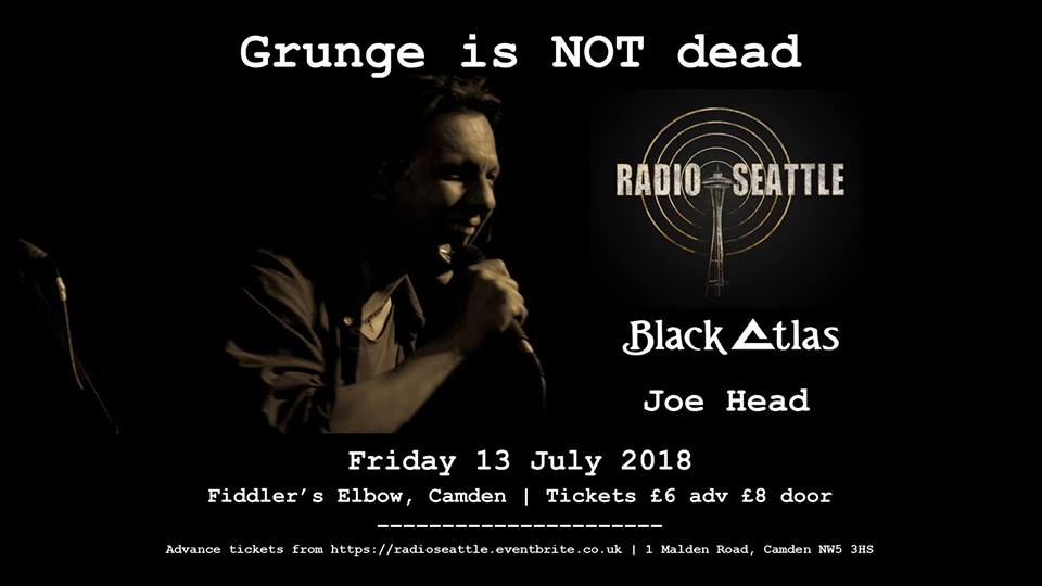 Grunge is NOT Dead - night of classic grunge covers and originals! at The Fiddler's Elbow promotional image