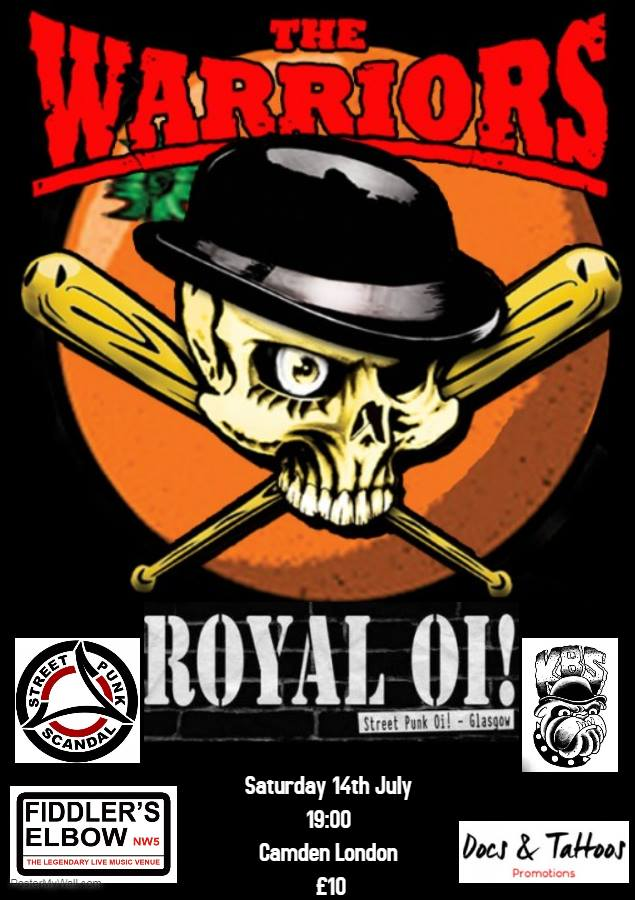 ROYAL OI! at The Fiddler's Elbow promotional image