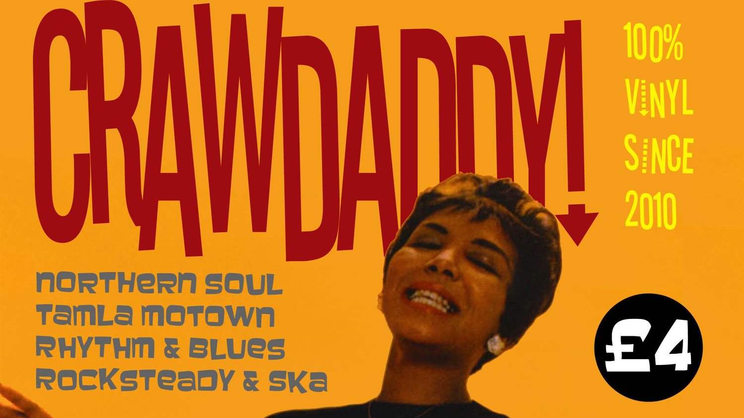 Crawdaddy! with guest DJ Manuel Lovisutti (Spoonful/Breakaway) at The Fiddler's Elbow promotional image