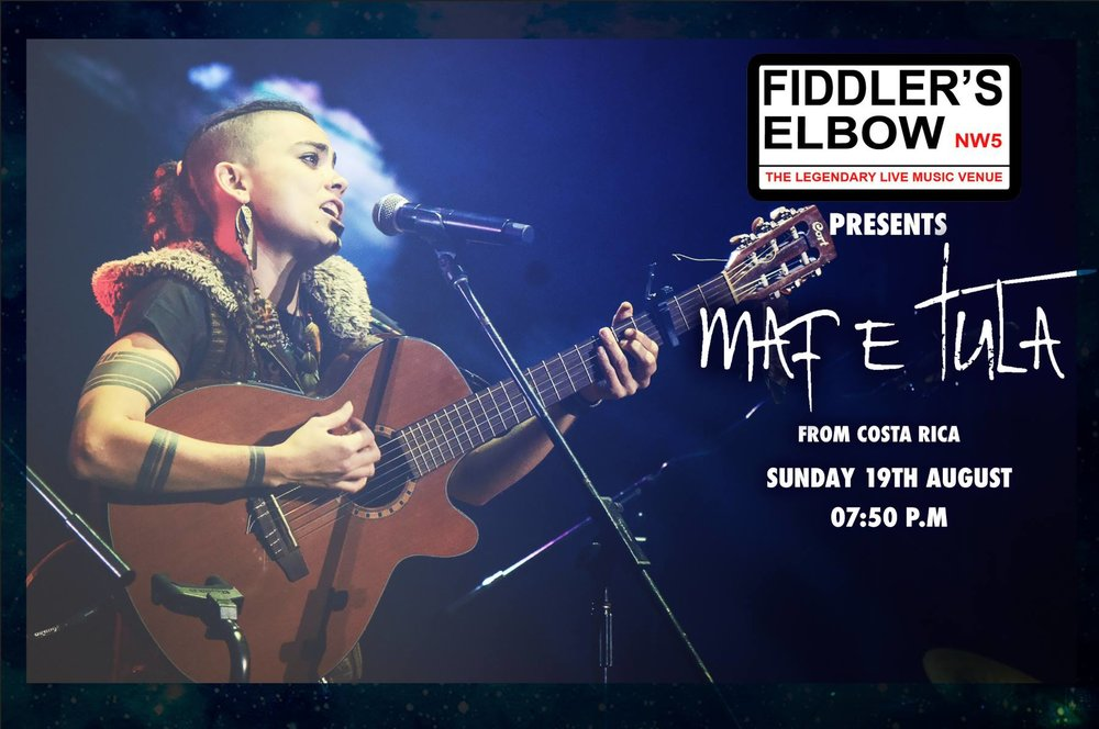 INDIE - Nick Griffiths Band + Maf E Tula at The Fiddler's Elbow promotional image