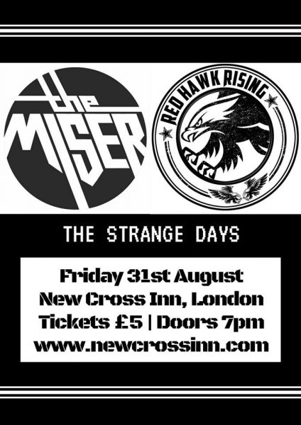 The Miser / Red Hawk Rising + support at New Cross Inn promotional image