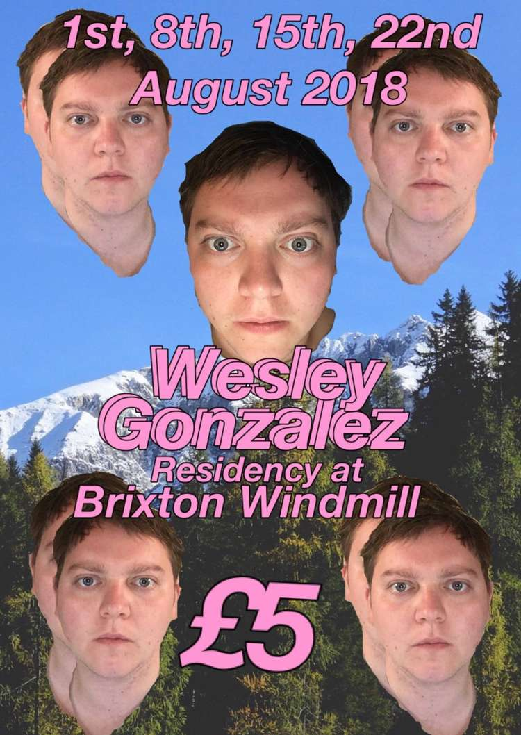 Wesley Gonzalez, SLICE, Clingfilm  at Windmill Brixton promotional image