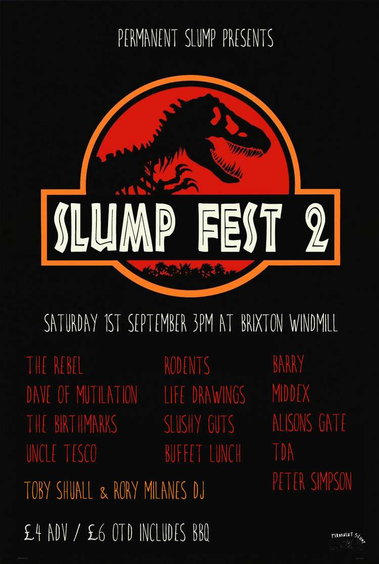 Slumpfest #2  at Windmill Brixton promotional image