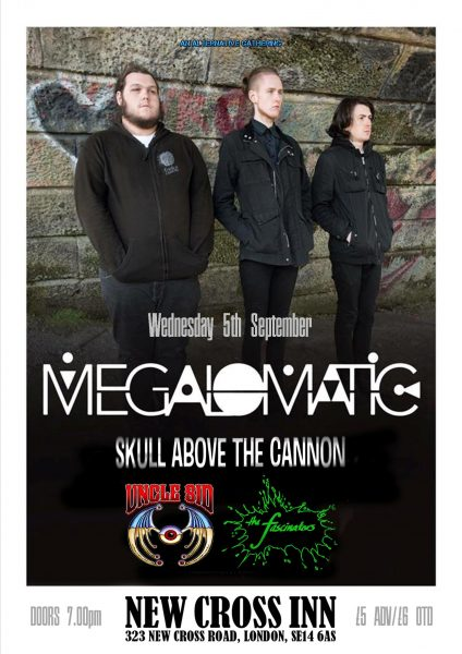 Megalomatic at New Cross Inn promotional image