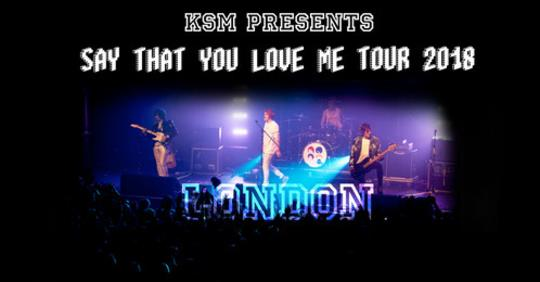London - 'Say That You Love Me' Tour  at The Fiddler's Elbow promotional image