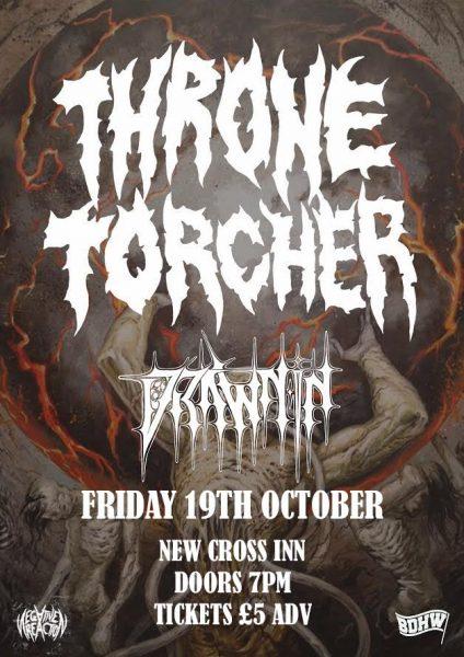 Thronetorcher + Drawn In at New Cross Inn promotional image