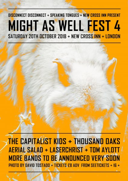 Might As Well Fest 4 at New Cross Inn promotional image