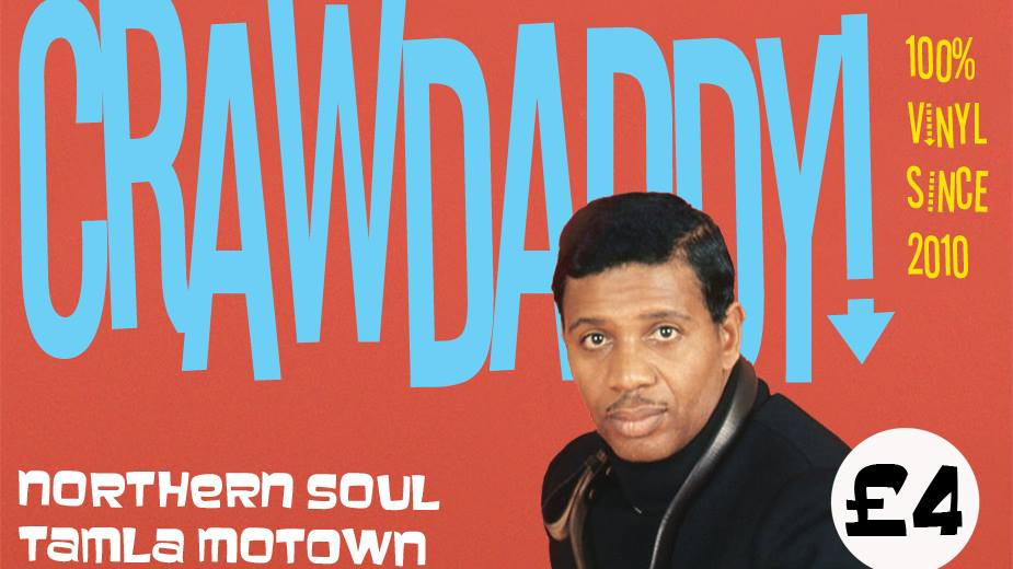 CRAWDADDY - Motown and northern gems, plus ska, reggae and jazz at The Fiddler's Elbow promotional image