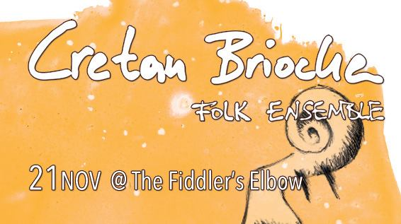 Cretan Brioche vibes - music from Crete, Cyprus and Greece at The Fiddler's Elbow promotional image