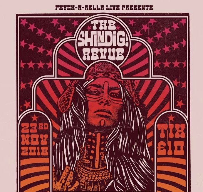 The Shindig! Revue #4 Soundcarriers // Gloria // Strange Majik at The Victoria promotional image