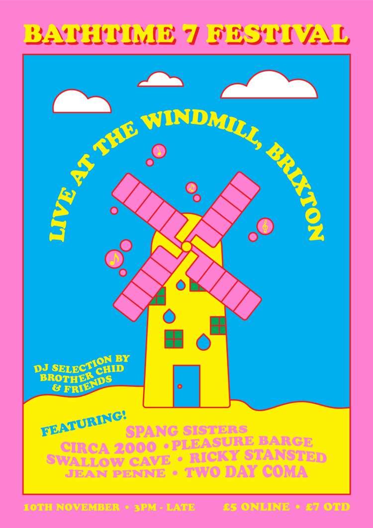 Bathtime #7:  DAY + NIGHT FEST  at Windmill Brixton promotional image