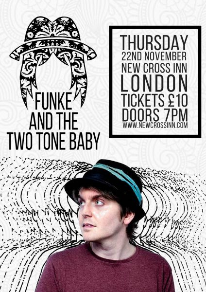 Funke and The Two Tone Baby at New Cross Inn promotional image