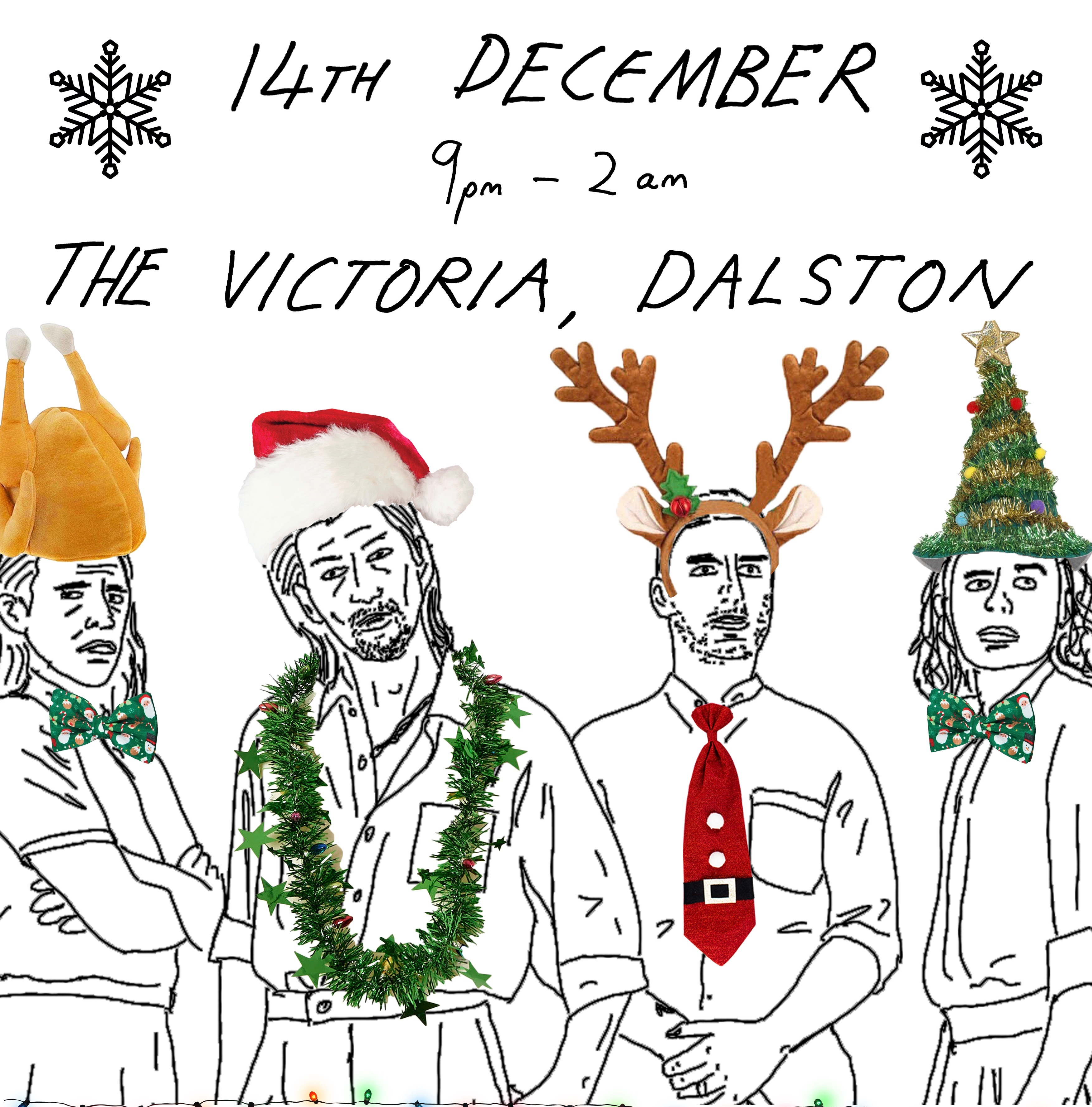 Shit Indie Disco - xmas special at The Victoria promotional image