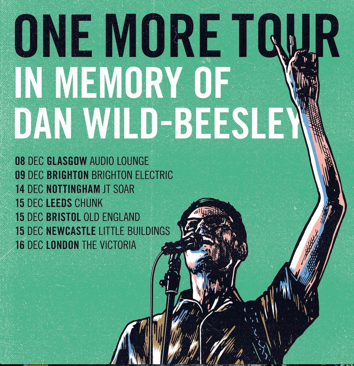 Portals presents: One More Tour - A Tribute to Dan Wild-Beesley at The Victoria promotional image