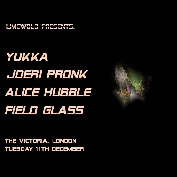 Limewold Presents: Yukka / Joeri Pronk / Alice Hubble at The Victoria promotional image