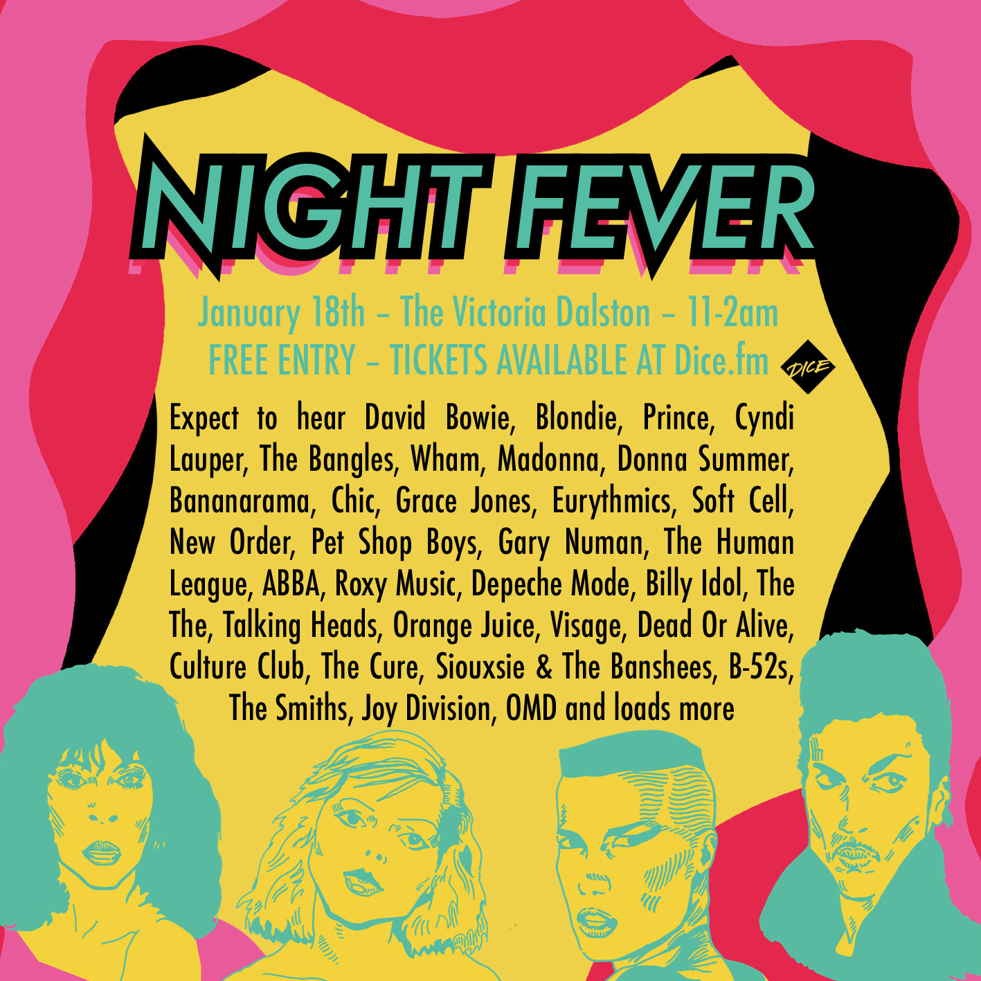 Night Fever at The Victoria promotional image