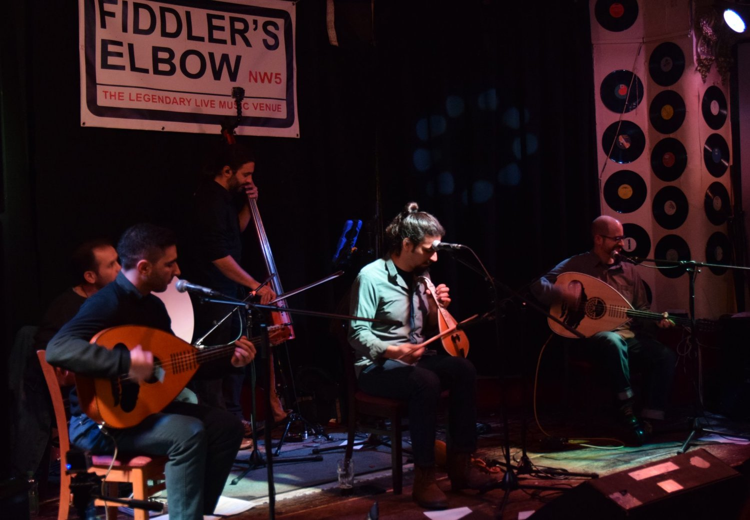 CRETAN BRIOCHE is a London-based Cretan folk music   at The Fiddler's Elbow promotional image