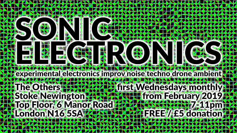 Sonic Electronics with Non-Bio / Milo Taylor / Psychiceyeclix at The Others promotional image