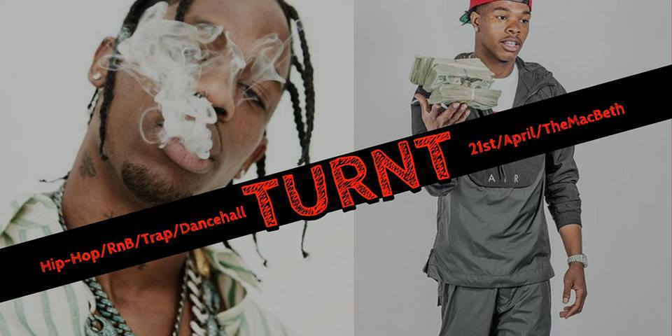 Turnt - Hip-Hop/RnB/Trap/Dancehall at The Macbeth promotional image