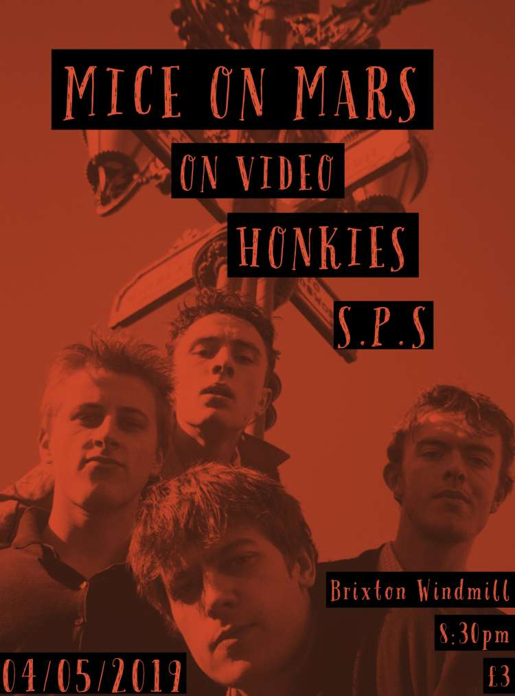 Mice On Mars + On Video + Honkies + SPS  at Windmill Brixton promotional image