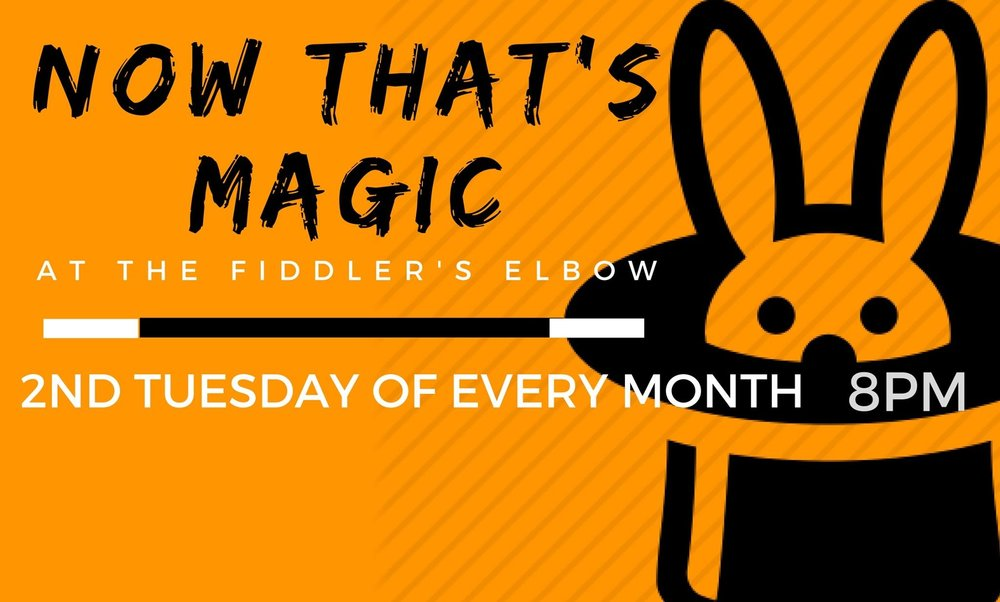 MAGIC NIGHT - FREE ENTRY at The Fiddler's Elbow promotional image