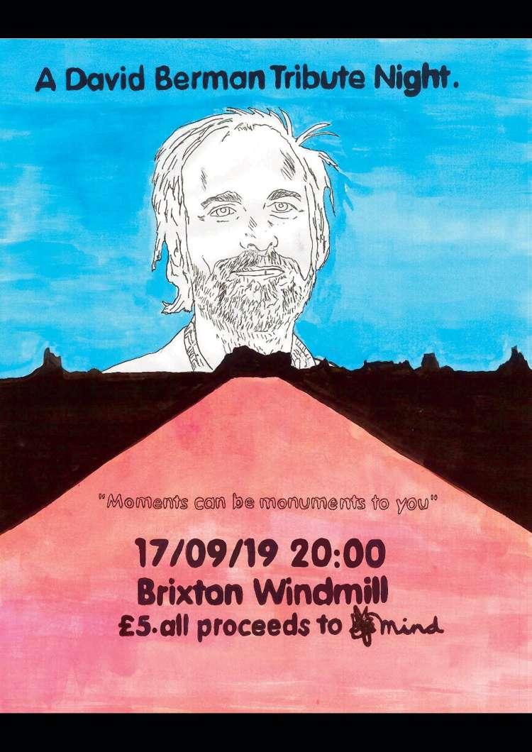 A David Berman Tribute Night  at Windmill Brixton promotional image