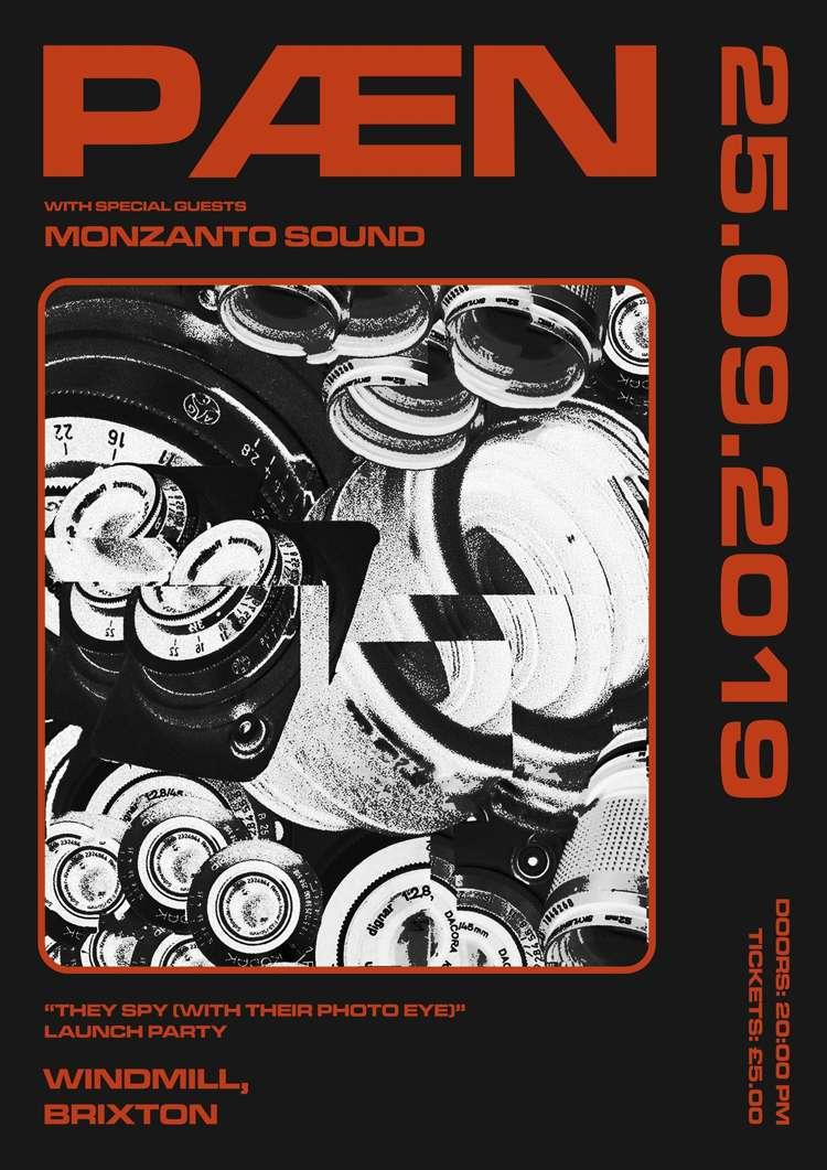PÆN, Monzanto Sound  at Windmill Brixton promotional image