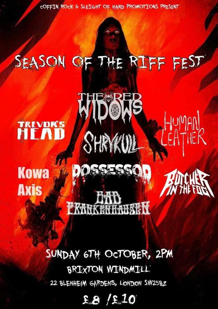 Season Of The Riff Fest  at Windmill Brixton promotional image