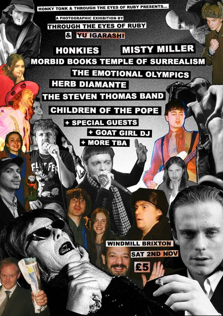 Honkies, Misty Miller + many many more  at Windmill Brixton promotional image
