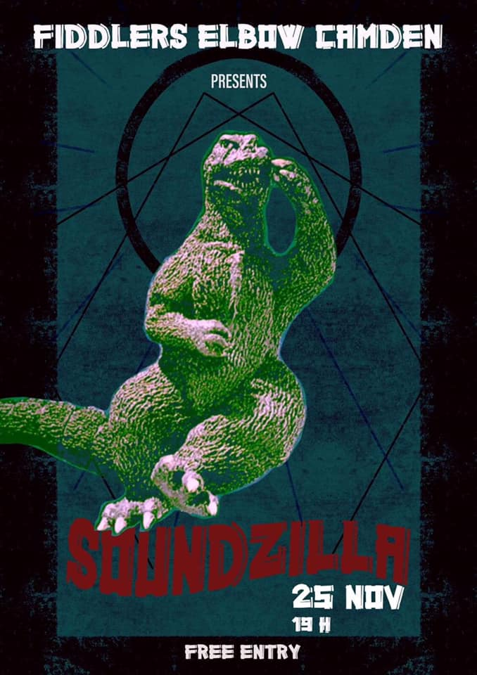 SOUNDZILLA - Middlesex University FREE ENTRY at The Fiddler's Elbow promotional image