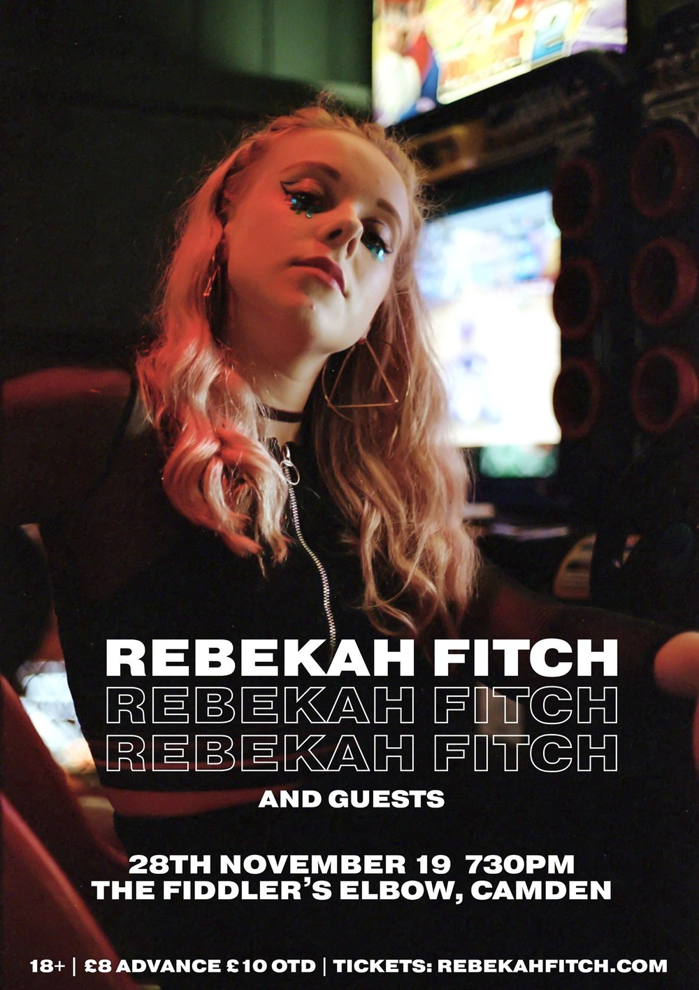 Rebekah Fitch + Guests at The Fiddler's Elbow promotional image