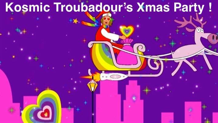 Kosmic Troubadour's Xmas Party DAYTIME GIG at The Fiddler's Elbow promotional image
