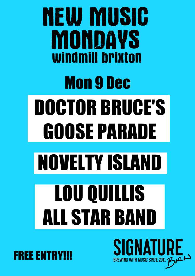 New Music Mondays   at Windmill Brixton promotional image