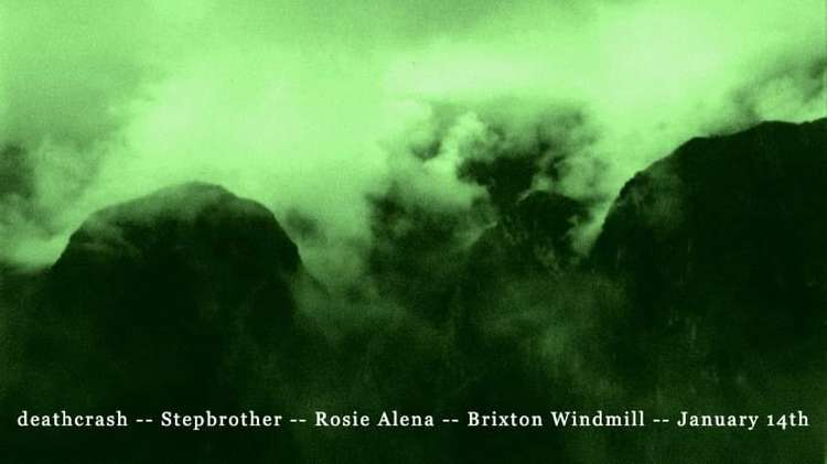 deathcrash, Stepbrother, Rosie Alena  at Windmill Brixton promotional image