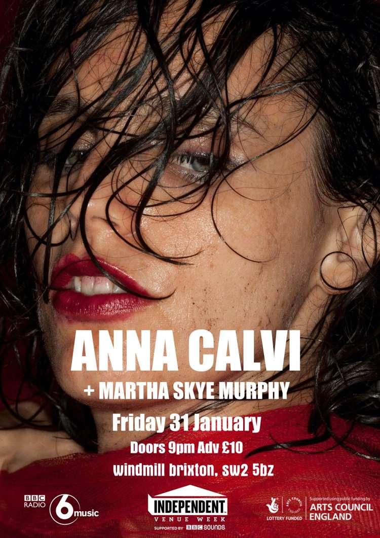 #IVW20 - Anna Calvi + Martha Skye Murphy  at Windmill Brixton promotional image