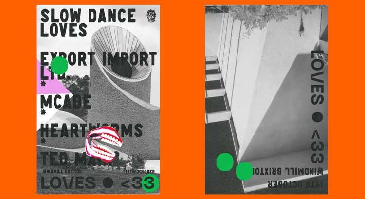 Export Import Ltd, McCabe, Heartworms, Ted Mair  at Windmill Brixton promotional image