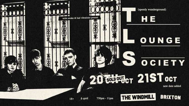 The Lounge Society  at Windmill Brixton promotional image