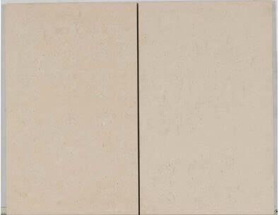 tan porcelain Modern Travertine Matte 12x24 White