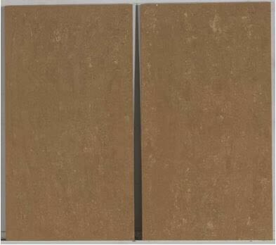 brown porcelain Modern Travertine Matte 12x24 Noce