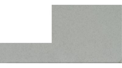 gray quartz STRATUS WHITE  by corian quartz