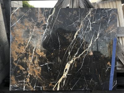 black, tan, beige marble Old St Laurent