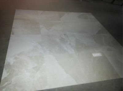brown, gray, tan stone Crema Beige Polished